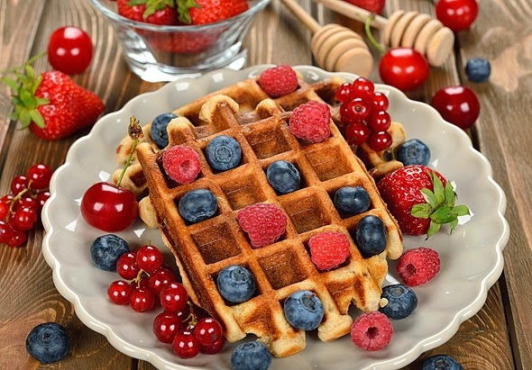 Easy and Best Belgian waffles recipe