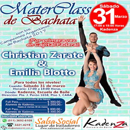 MasterClass de Bachata
