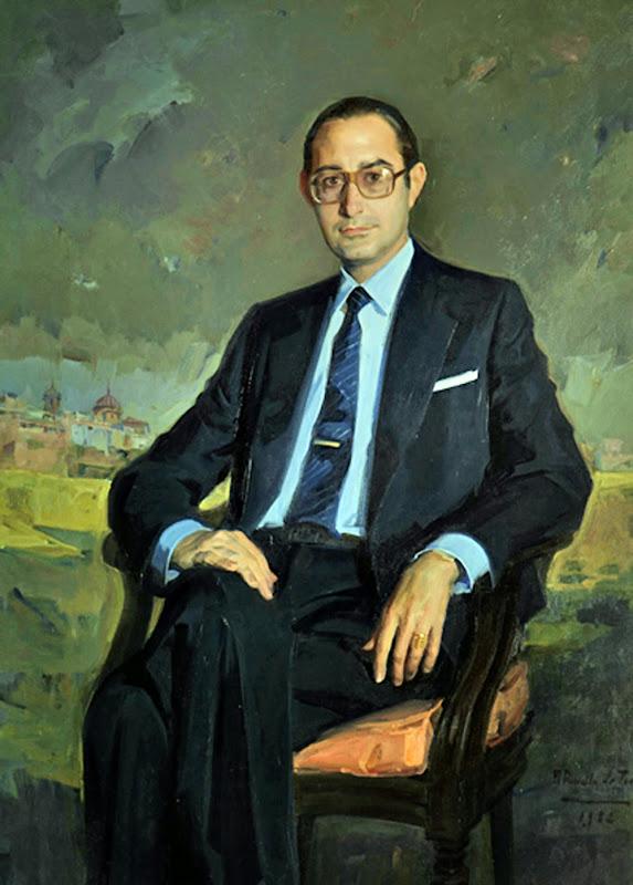 Retrato de Jaime Lamo de Espinosa, Félix Revello de Toro