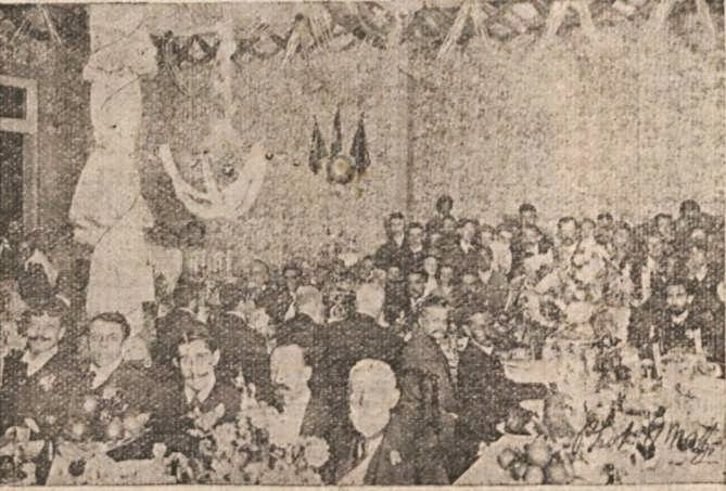VISITA PRESIDENCIAL EM BARBACENA 1904 DR FRANCISCO ALVES