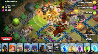 Clash Of Clans MOD APK 9.434.3 Unlimited Everything 2018