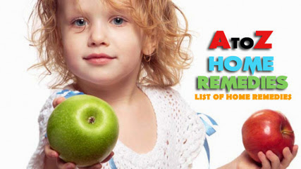 A - Z LIST OF HOME REMEDIES