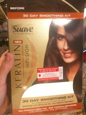 Suave Keratin Infusion 30 Day Smoothing Kit review blog, hair, suave professionals, straight