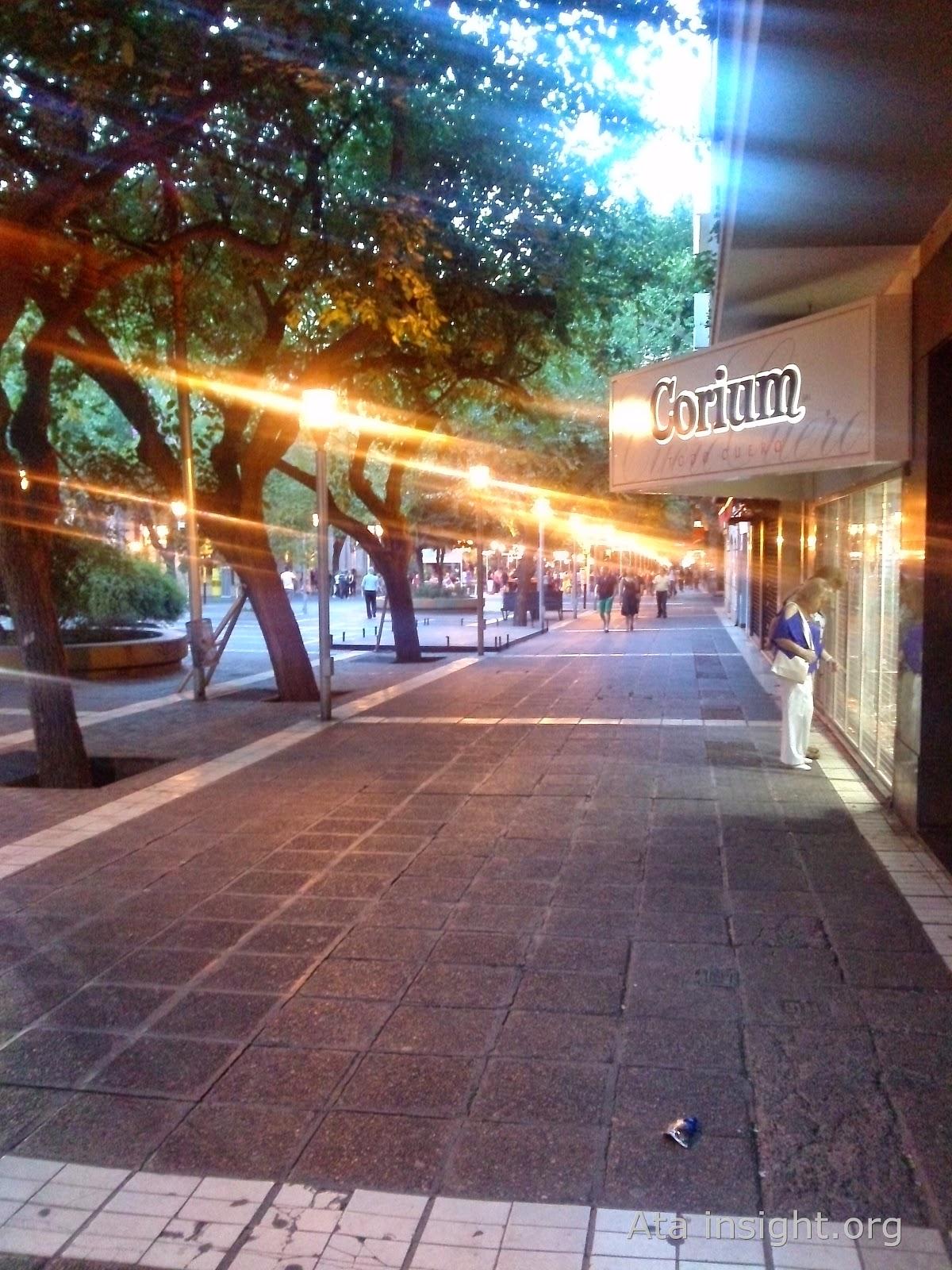Calles de Mendoza