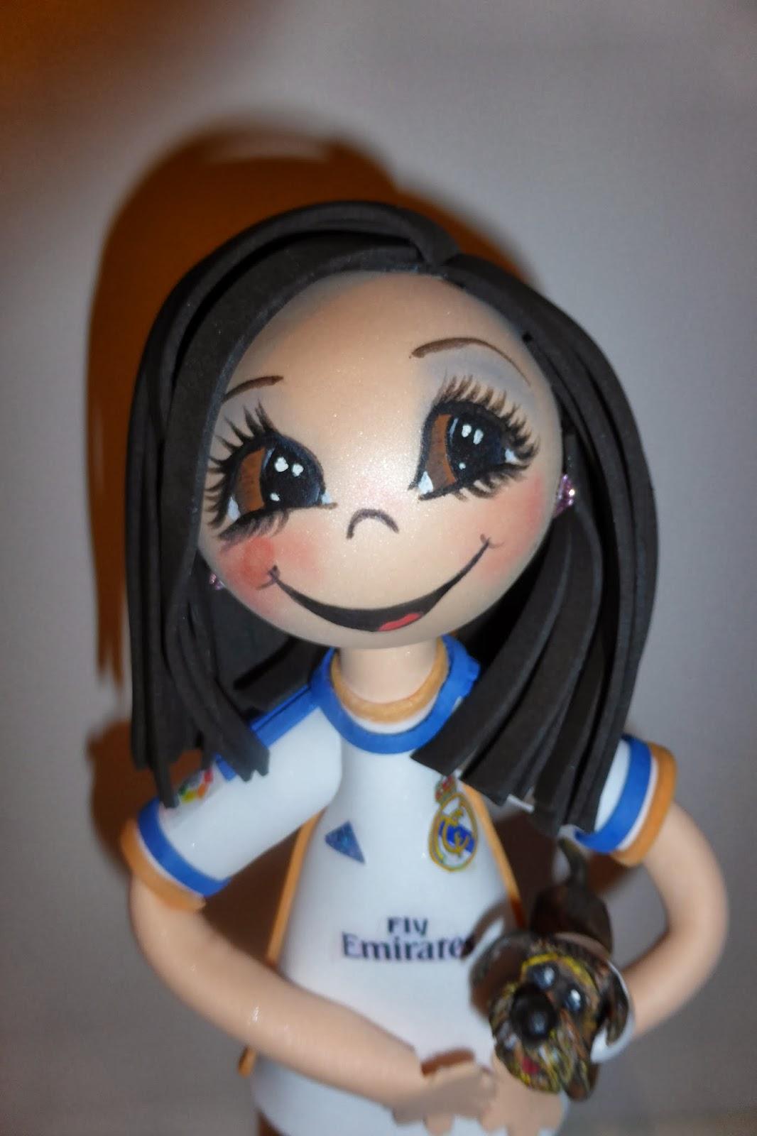 Fofucha Ver  Nica   Mascota Forofa Del Real Madrid