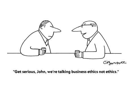 an examination of ethics in business Business ethics exam - questions and answers essays1) what is ethics what are some common ethical types why do business people need it can ethics be taught to people.