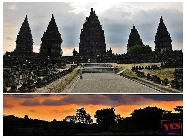 Prambanan temple in Yogyakarta Indonesia