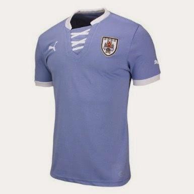 Kostum Timnas Uruguay Piala Dunia 2014