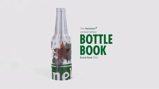 Heineken Bottle Book