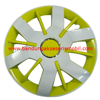 Dop Roda White+Yellow WJ-5067 (14)