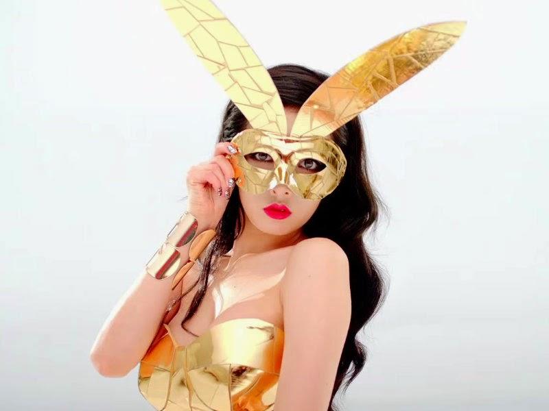 HyunA Superhero