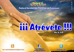 """""""ATRÉVETE"""". Pastoral curso 18-19"""