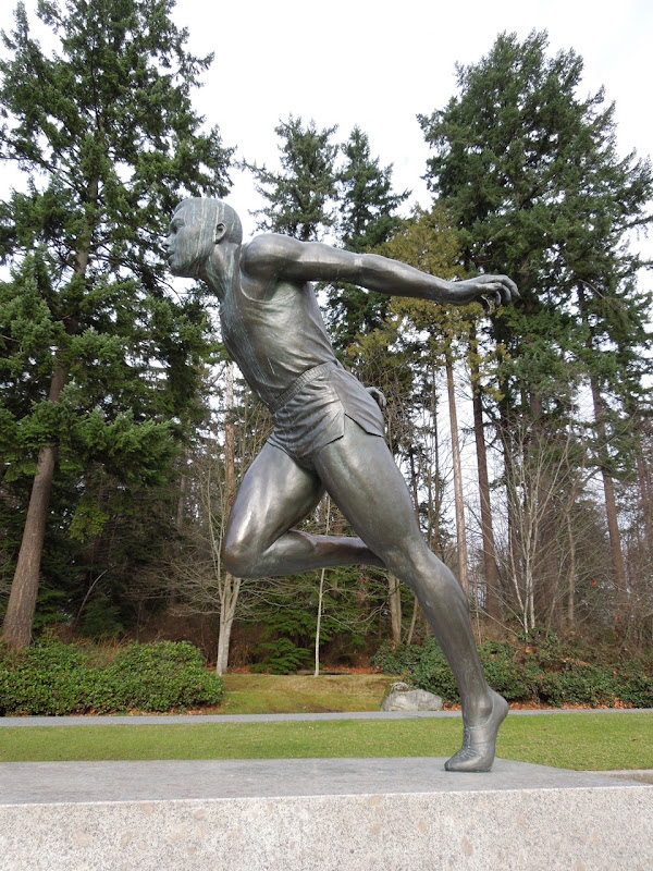 Harry Jerome statue Stanley Park