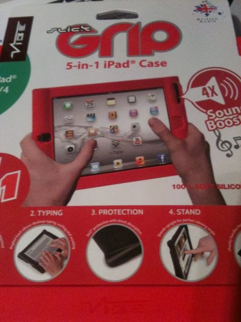 slick grip 5-in-1 iPad case