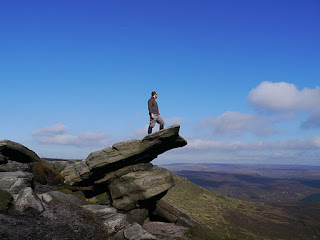 My walk along the North Kinder Edges was one of the walking highlights of 2011