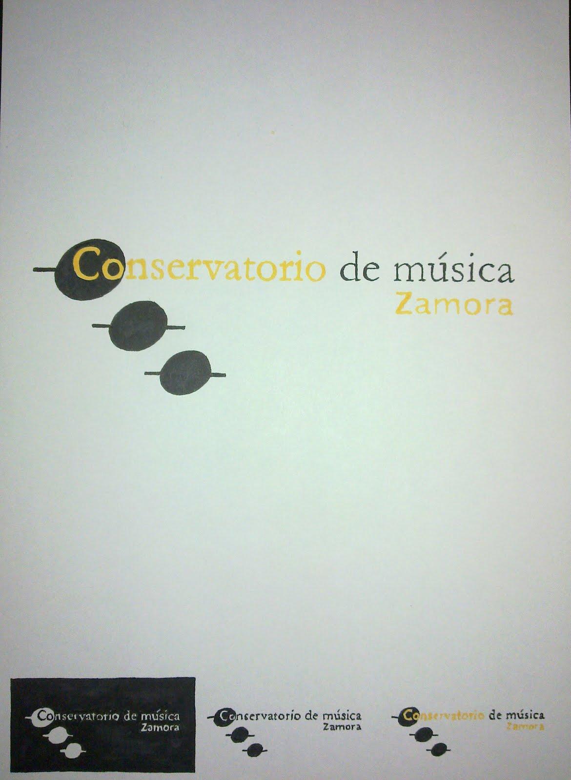 La esquina del dise o logo conservatorio de musica de zamora for Conservatorio de musica