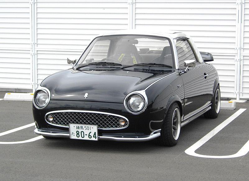 224. Nissan Figaro (FK10). staryjaponiec blog