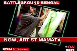 Artist Mamata Banerjee for a noble cause