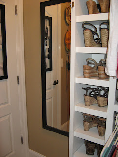 Custom Jewelry Cabinet Built in Wall - Mirror Door
