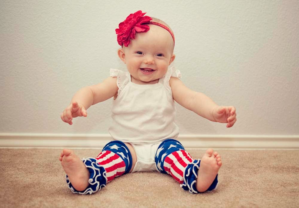 4th of July Leg Warmers