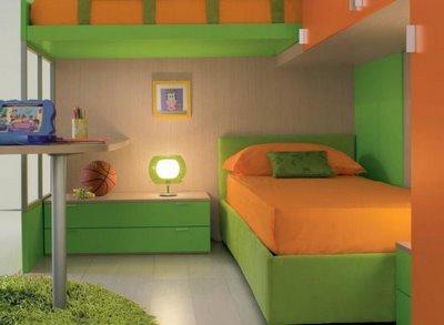 Decoraciones y hogar dormitorios modernos para ni os - Habitaciones de ninos pintadas ...
