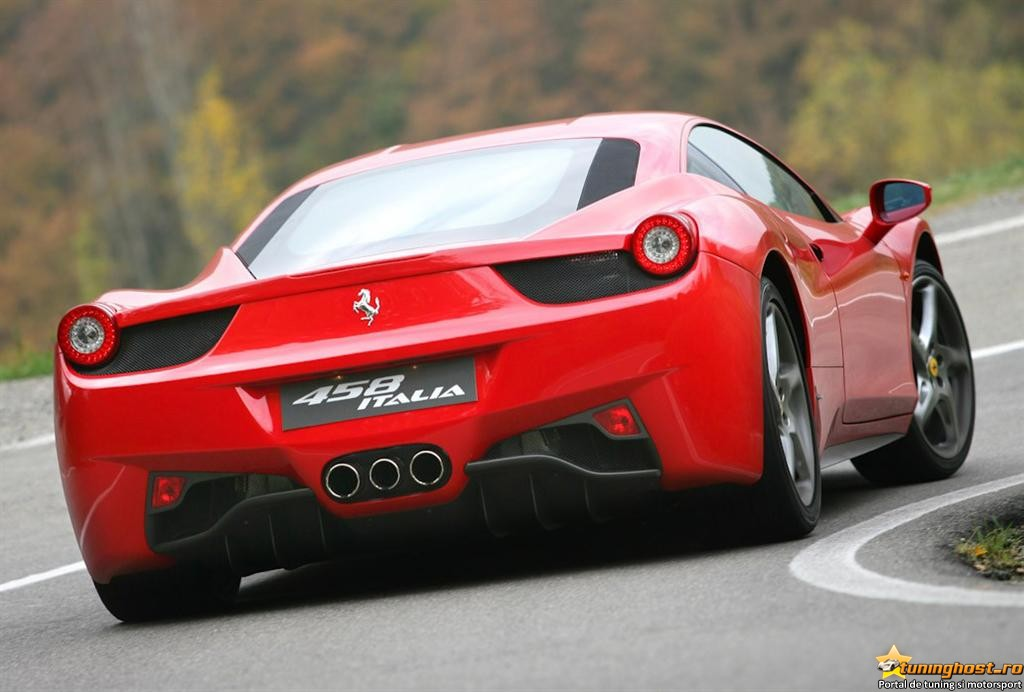 458 red cars - photo #44