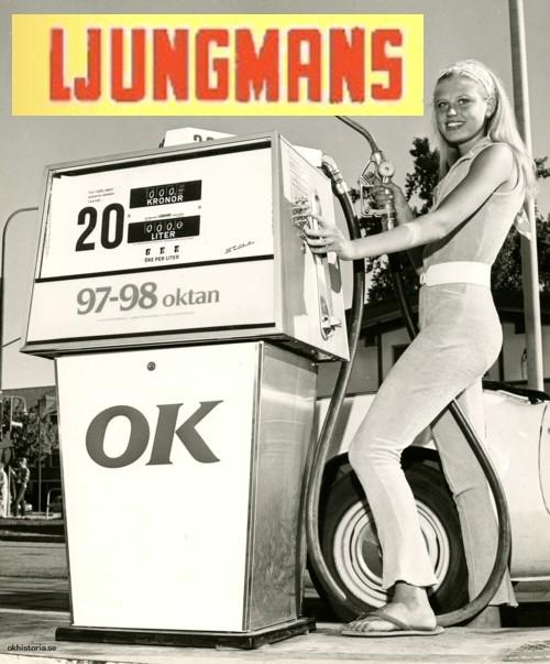 Hyllningsida för Ljungmans bensin & dieselpumpar