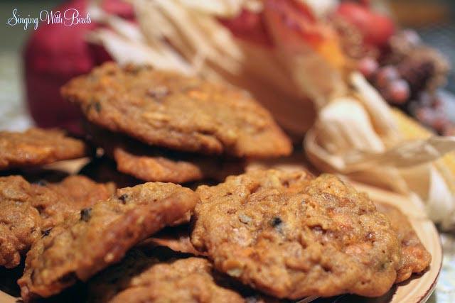 Great Pumpkin Cookies  @singingwithbirds.com