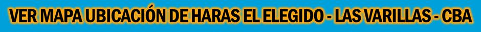 MAPA HARAS EL ELEGIDO