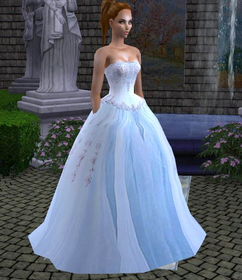 Ballroom gown wedding dresses : Ballroom lighting pic bridal gowns