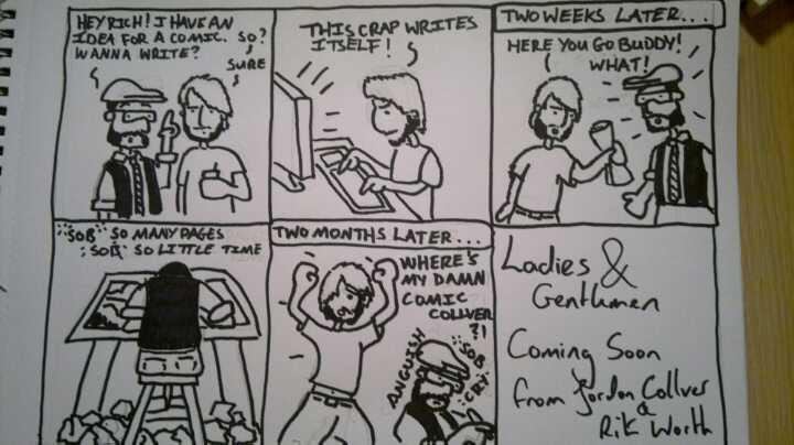 making comics writer artist