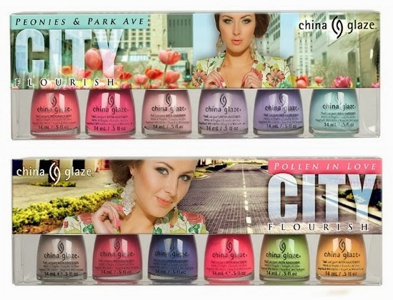China Glaze City Florish Collection