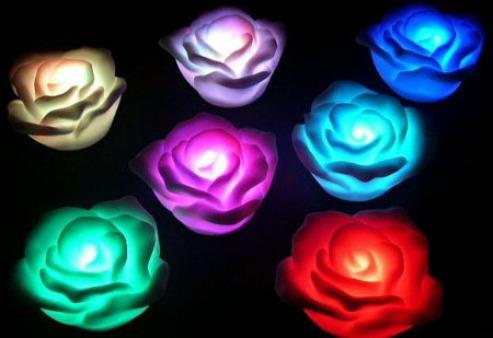 Lampu Rose LED