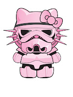 Hello Kitty Star Wars Stormtrooper