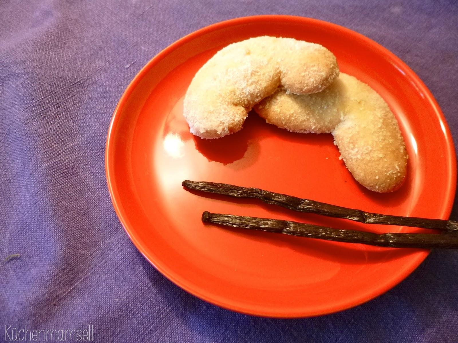 Küchenmamsell Vanillekipferl  süß am Sonntag