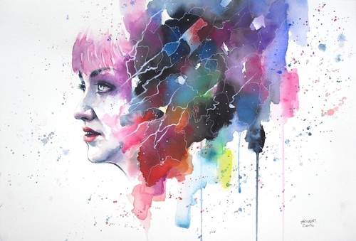 05-Barriers-Erica-Dal-Maso-Expressing-Emotions-Through-Watercolor-Paintings-www-designstack-co