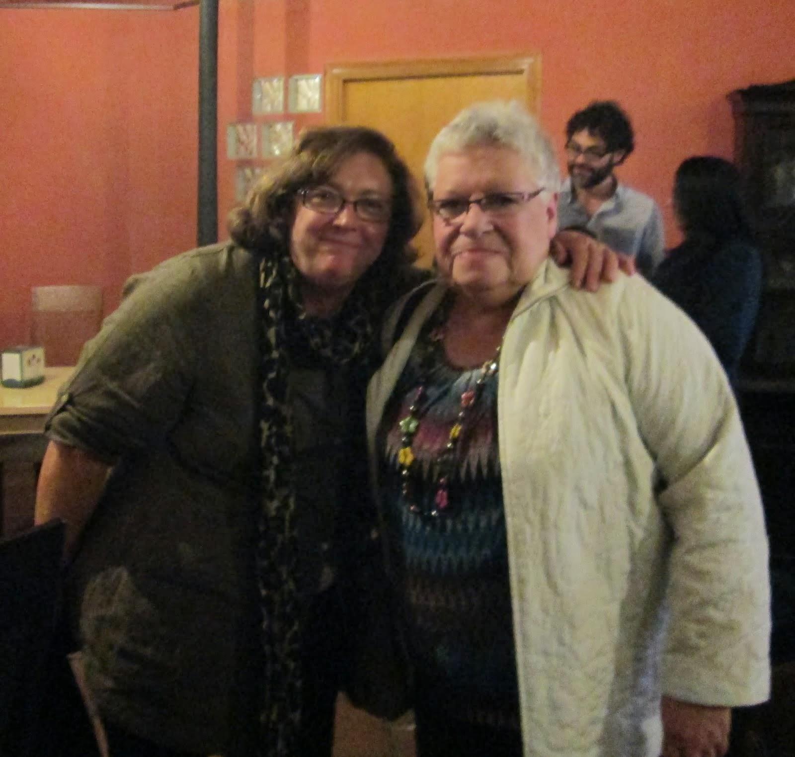 Con Luisa Futoransky