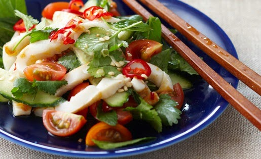 Thai Squid Salad.