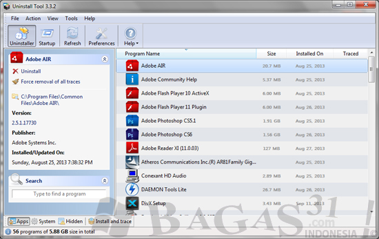 Uninstall Tool 3.3.2 Full Crack 2