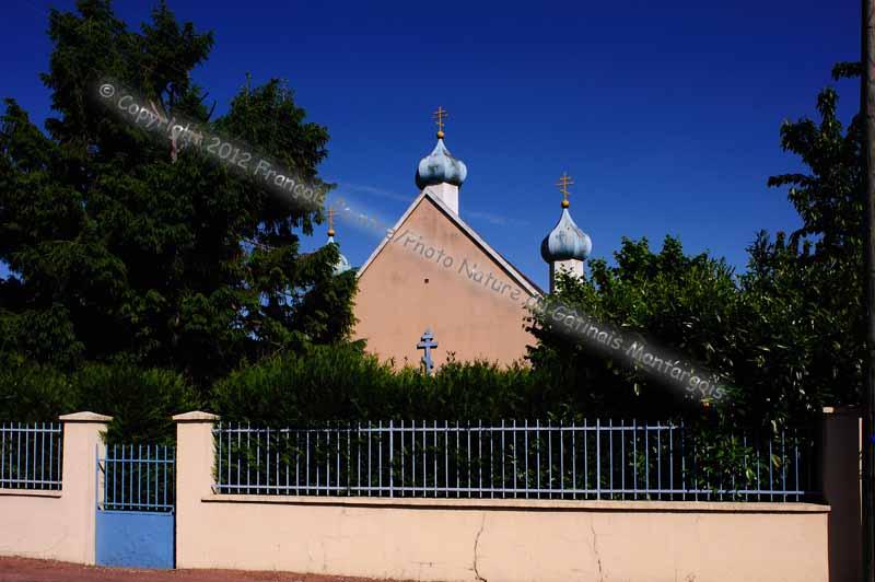 église orthodoxe de Chalette sur Loing
