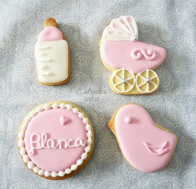 galletas con glasa para bebe o bautizo - 5