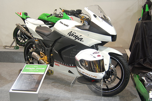 Kawasaki NINJA 250 modification
