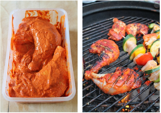 Super Easy Tandoori Chicken Legs Recipe — Dishmaps