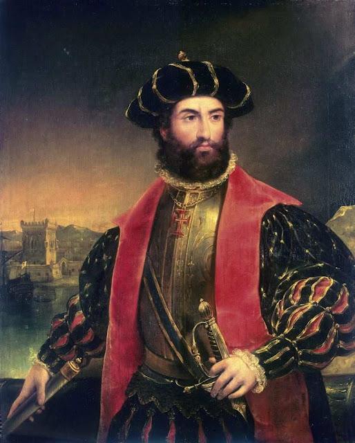 Vasco da Gama (Sines, c. 1460 ou 1468 ou 1469 — Cochim, Índia, 24 de Dezembro de 1524)