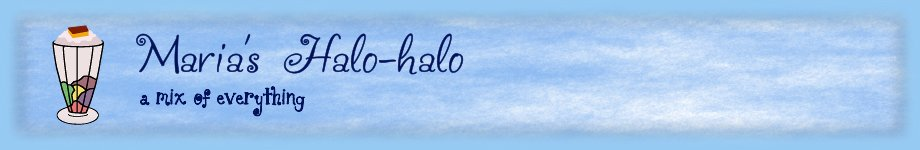 Maria's Halo-halo