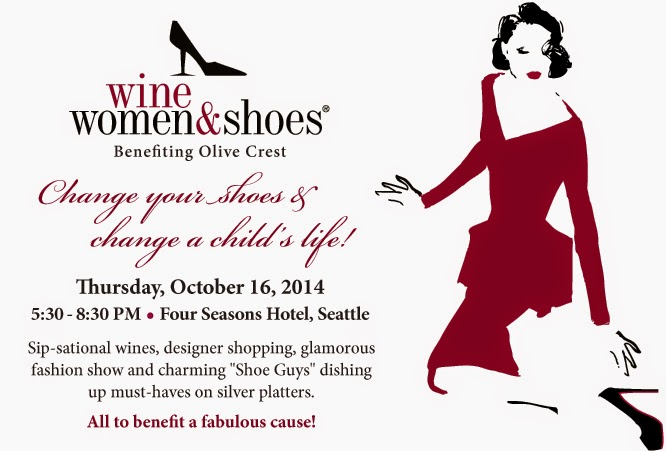 Wine Women Shoes - Seattle 2014 - Olive Crest