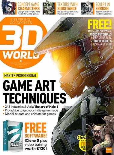 3D World Magazine Issue December 2015