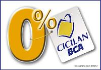 Cicilan BCA 0%