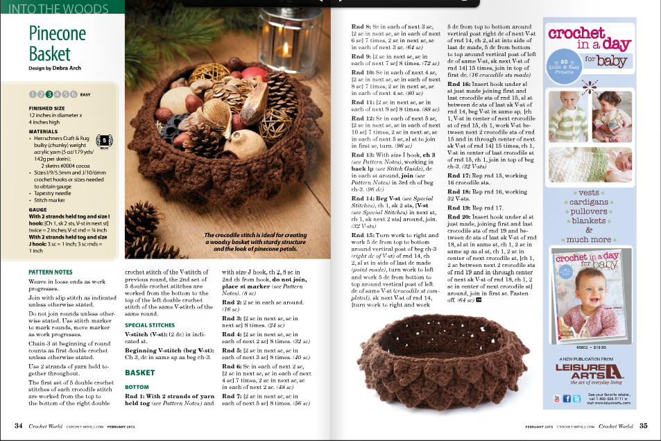 Crochet World : Crochetpedia: Crochet Books Online - Crochet World Magazines
