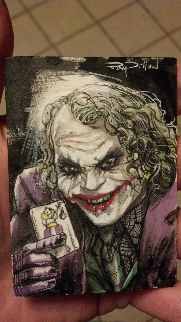 ray dillon artist amp writer joker dark knight film